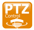 logo fonction PTZ RS485 camera