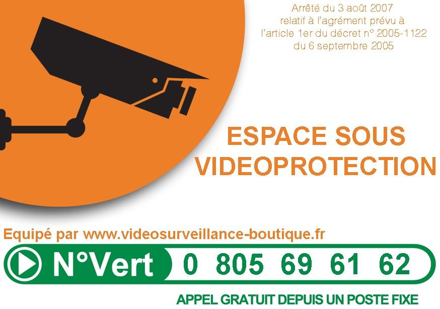 panneau d'information système de vidéo protection
