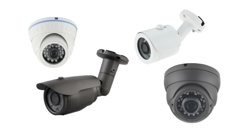 Camera surveillance infrarouge HD 720p