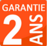 matériel garantie 2 ans