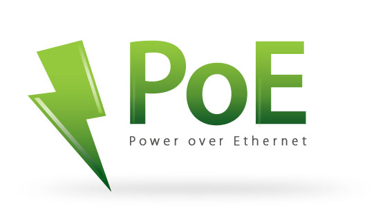 comment installer son kit de vidéosurveillance - logo poe - power over ethernet
